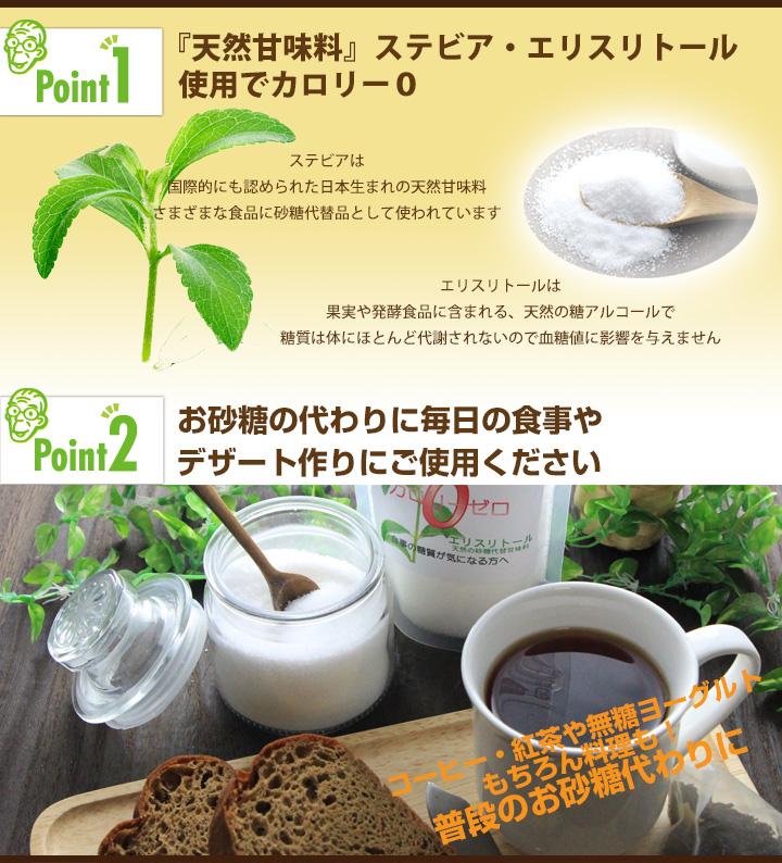 ドクター荒木オリジナル糖類ゼロの調味料シリーズ【スイートワン】商品説明
